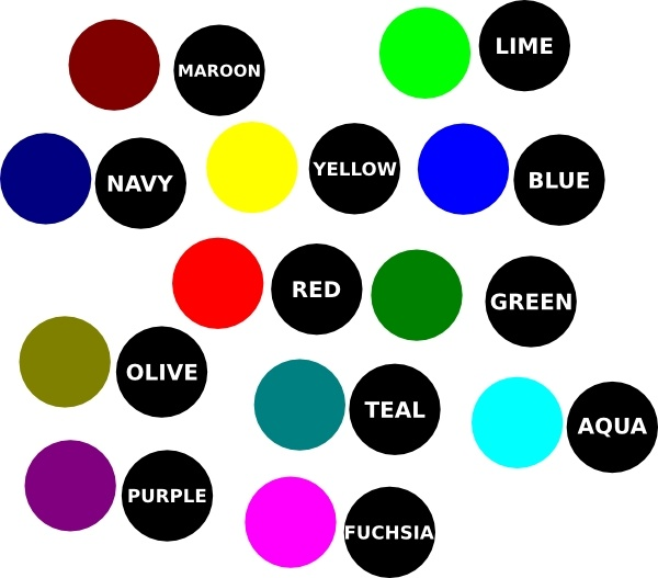 Scattered Color Dot clip art Free vector in Open office drawing.
