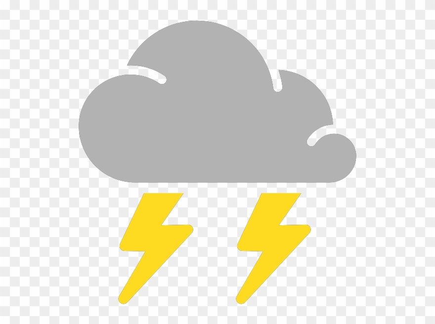 Clipart Rain Thunderstorm.
