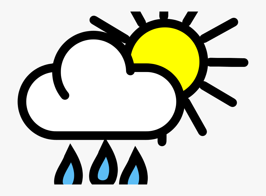 Showering Clipart Bad Weather.