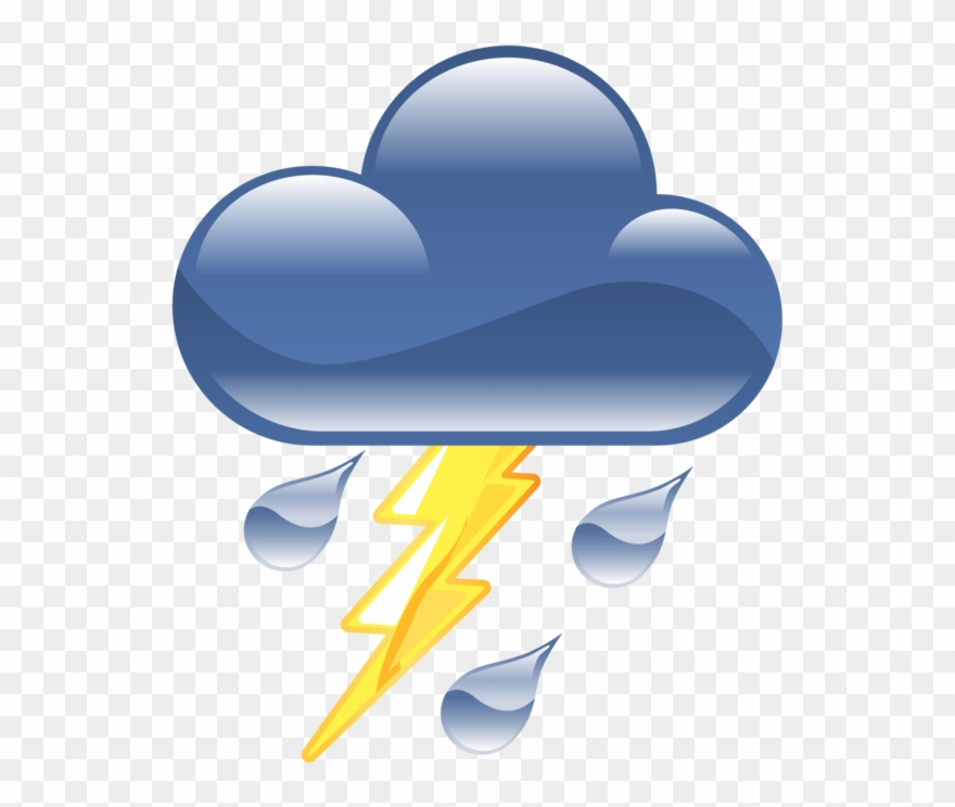 Thunderstorm Free Png Image.