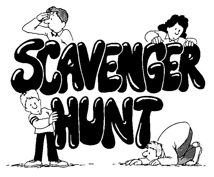Scavenger Hunt Clipart Free.