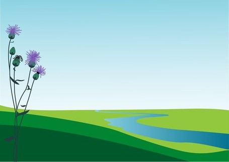 Scenery Clip Art, Vector Scenery.
