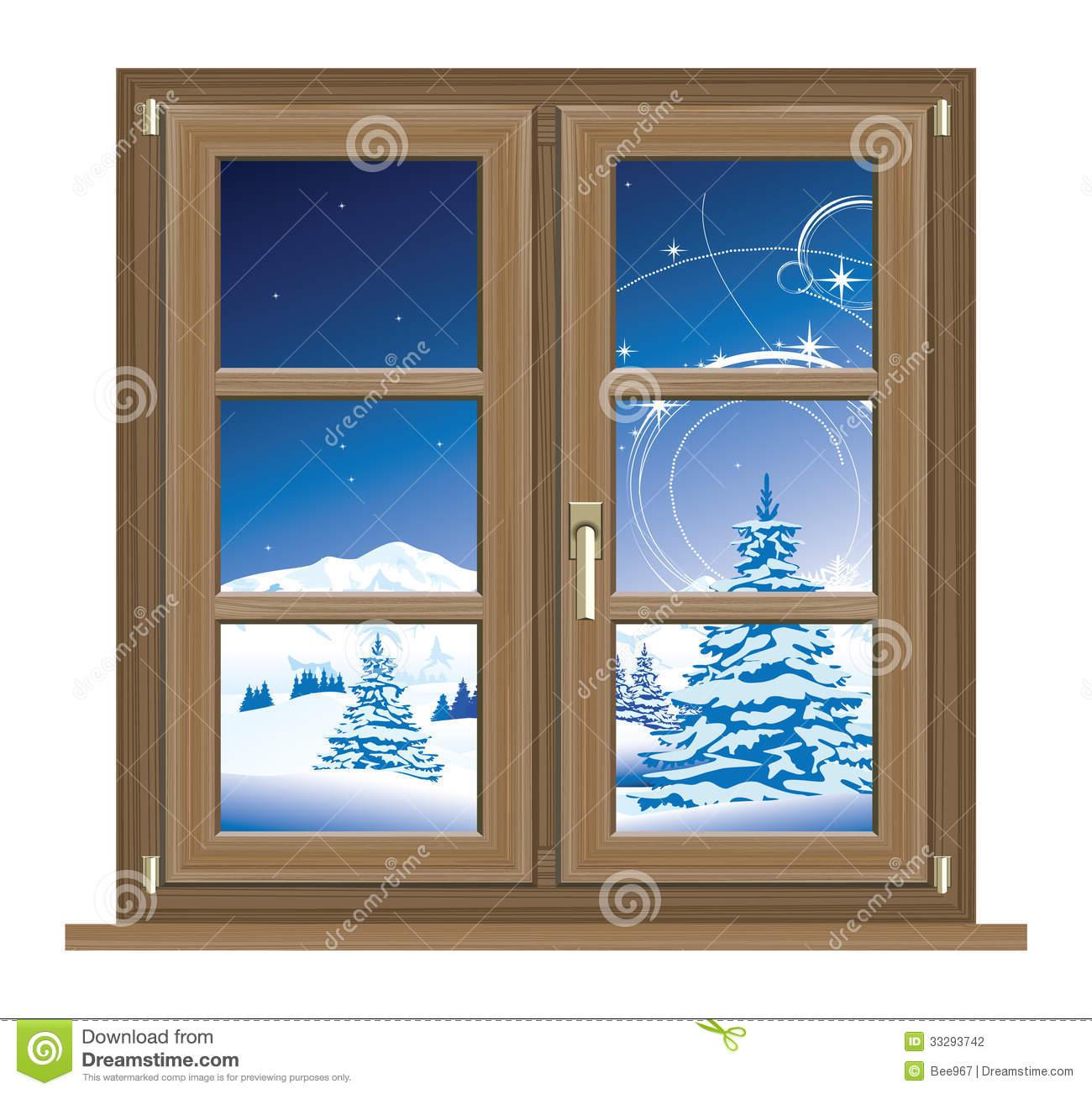 Window Scenery Clipart.