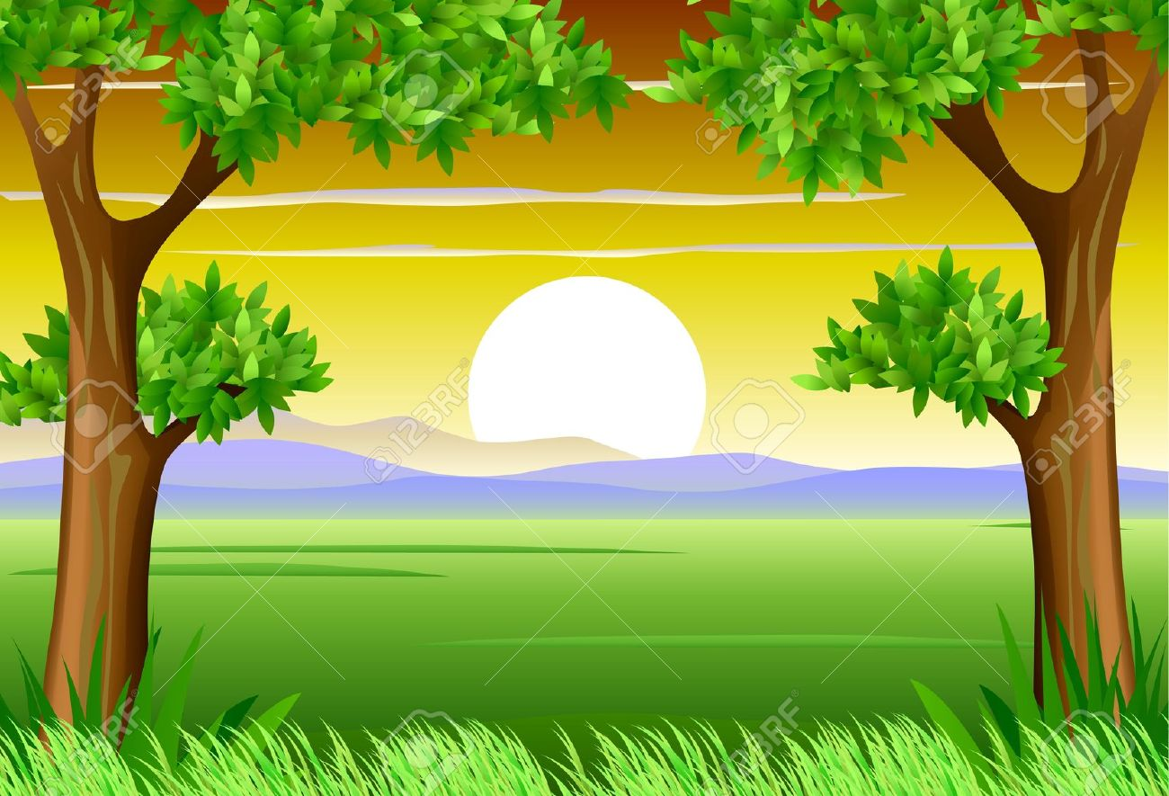 Nature Scenery Clipart.