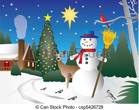Christmas scene clipart 20 free Cliparts | Download images ...