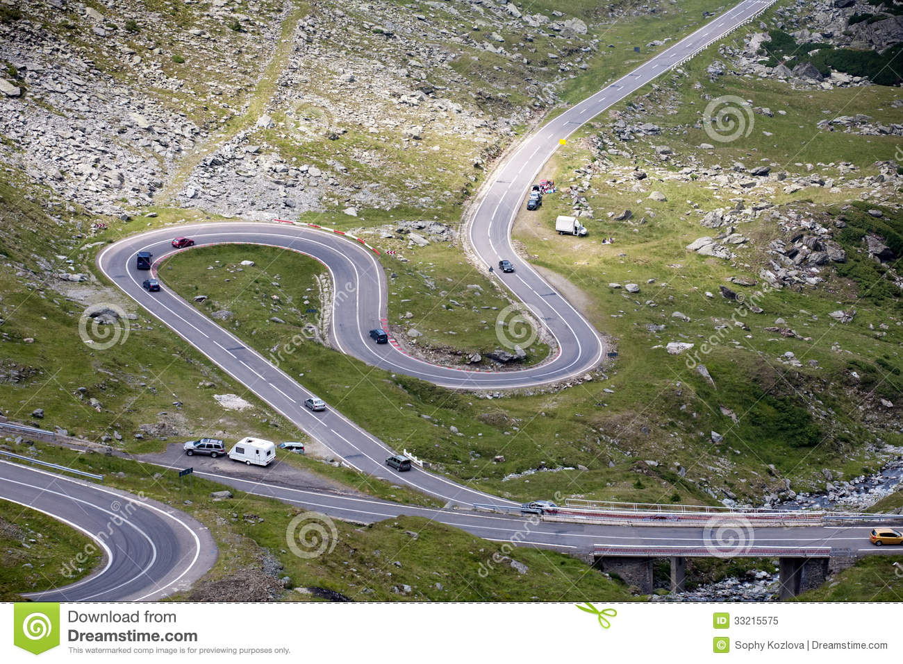 Top View Of Highway Clipart.