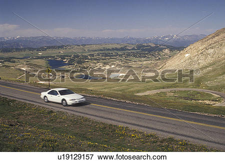Picture of Shoshone National Forest, Beartooth Scenic Highway, WY.