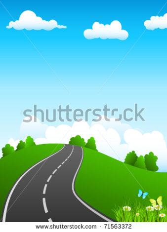 Scenic Drive Clip Art (7+).
