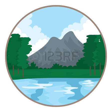 13,149 Scenic View Stock Vector Illustration And Royalty Free.