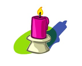 Fall Scented Candles Clip Art.