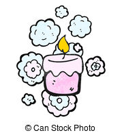 Scented Candle Clipart.
