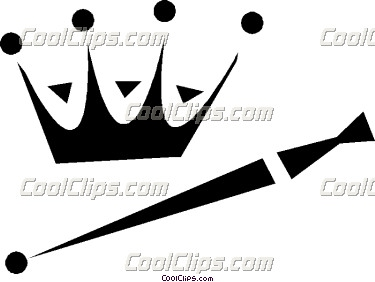 15 Crown And Scepter Clipart.