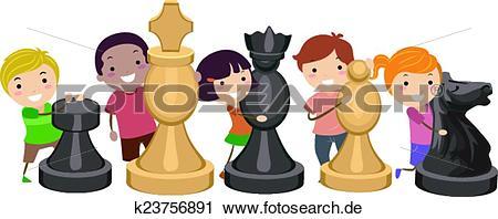 schach spielen kinder
