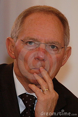 Wolfgang Schaeuble Editorial Stock Image.