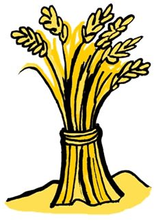 cartoon sheaves of wheat clipart.