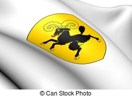 Flag of schaffhausen canton switzerland Illustrations and Clip Art.