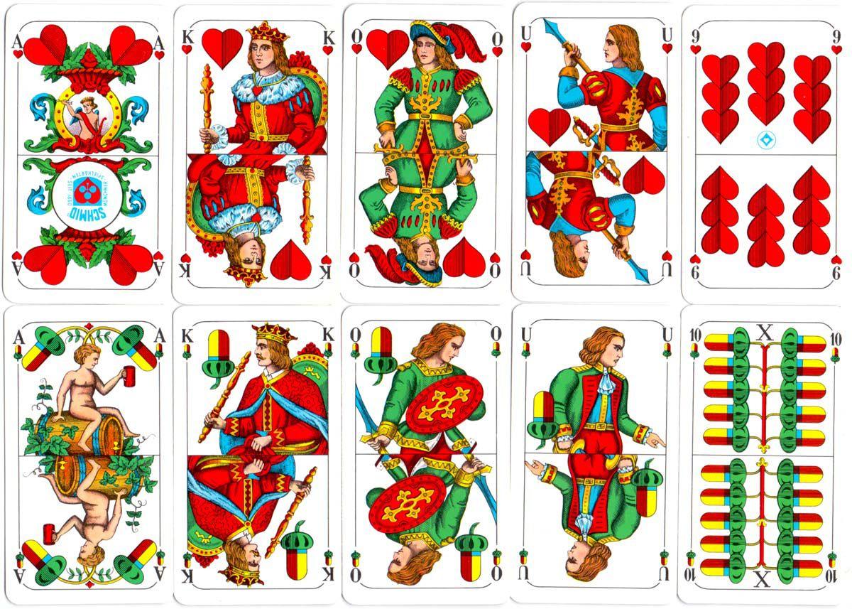 Bavarian Pattern by F. X. Schmid.