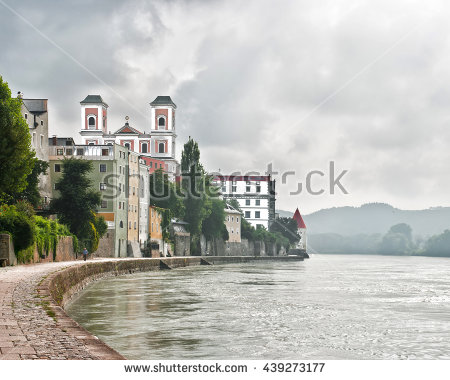 Danube River Stock Photos, Royalty.