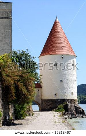 Danube Germany Passau Stock Photos, Royalty.