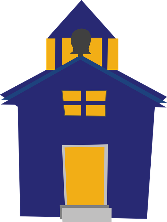 Free vector graphic: Schoolhouse, Building, School.