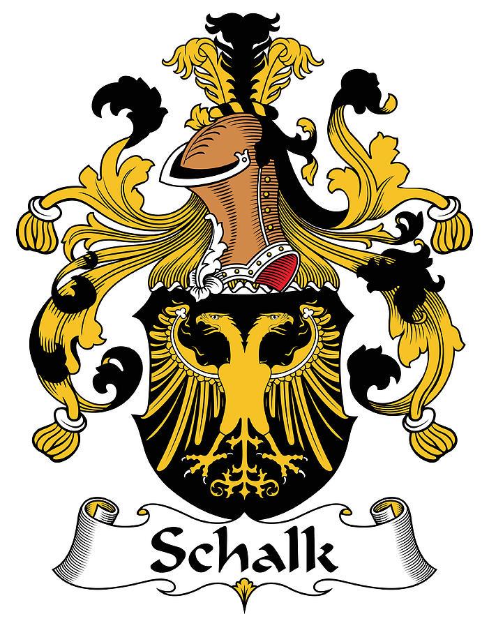 Schalk Coat Of Arms German Digital Art by Heraldry.