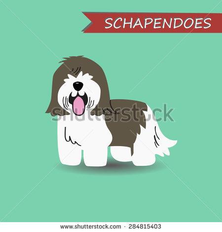 Schapendoes Stock Vectors & Vector Clip Art.