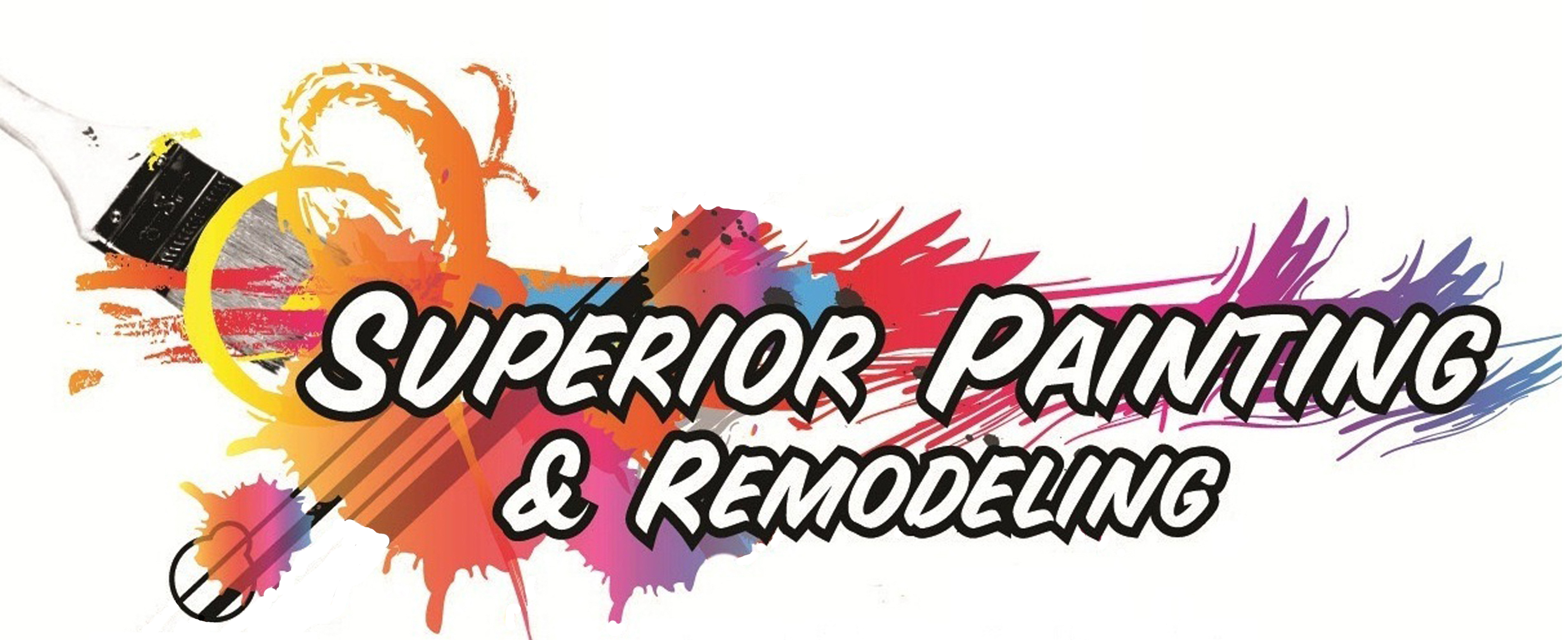 Professional painter logo house clipart.