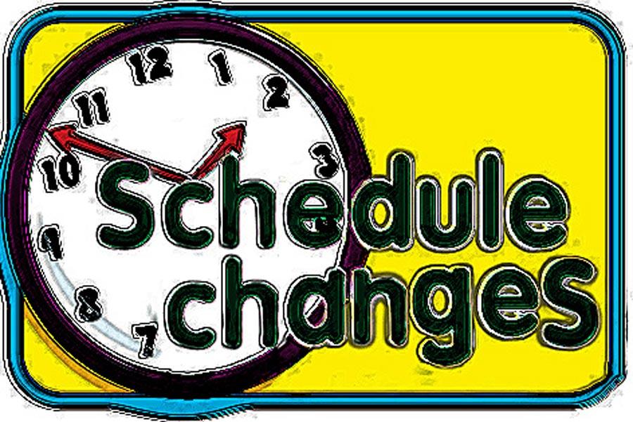 Schedule change clipart 3 » Clipart Station.