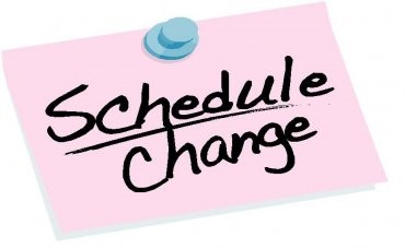 Schedule change clipart 1 » Clipart Station.