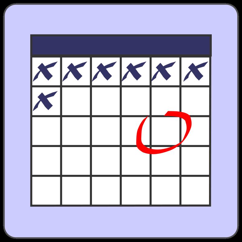 Schedule Clipart.