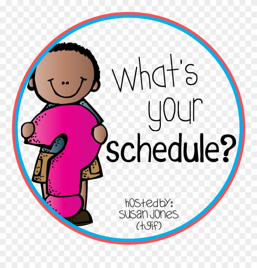 Daily Schedule Clipart Free Images.