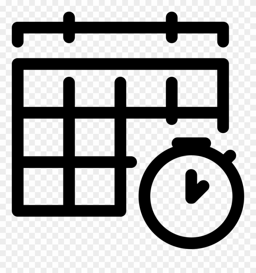 Appointment, Calendar, Event, Working Schedule Icon.