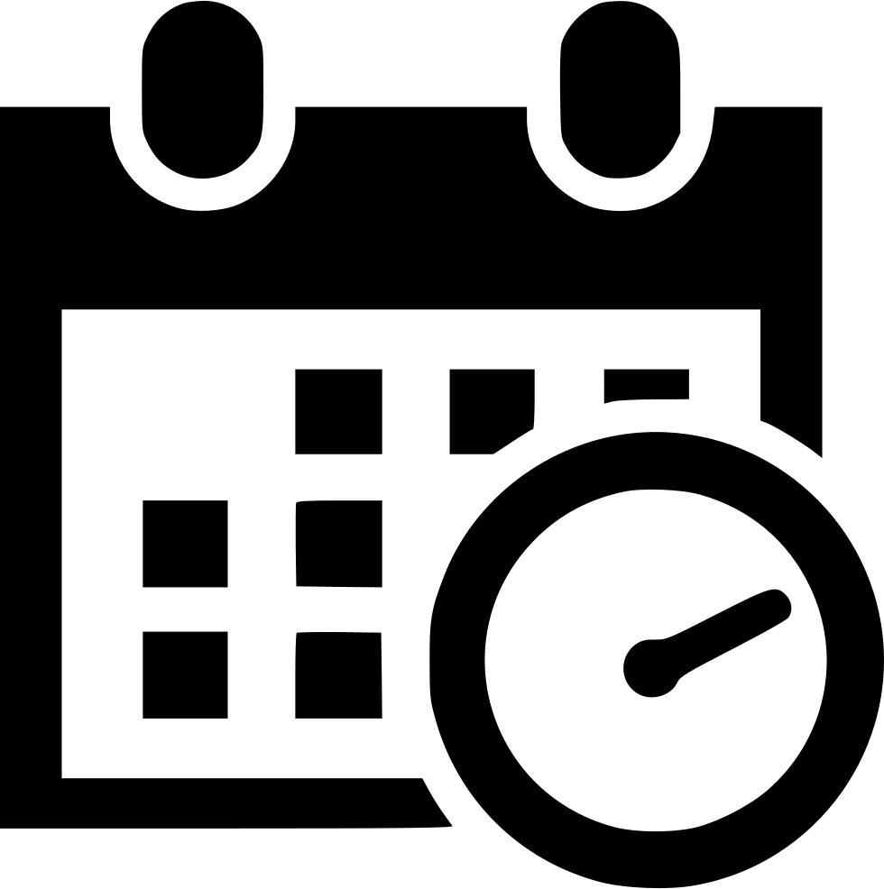Schedule Icon Transparent #354133.