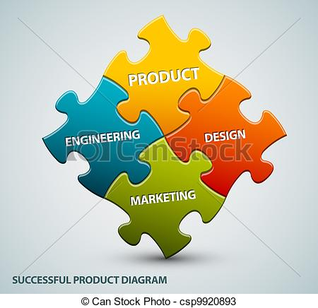 Vectors of Vector good product illustration schema made from.