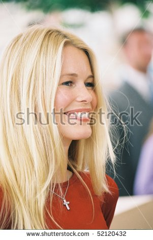 Claudia Schiffer Cannes Film Festival Stock Photos, Royalty.