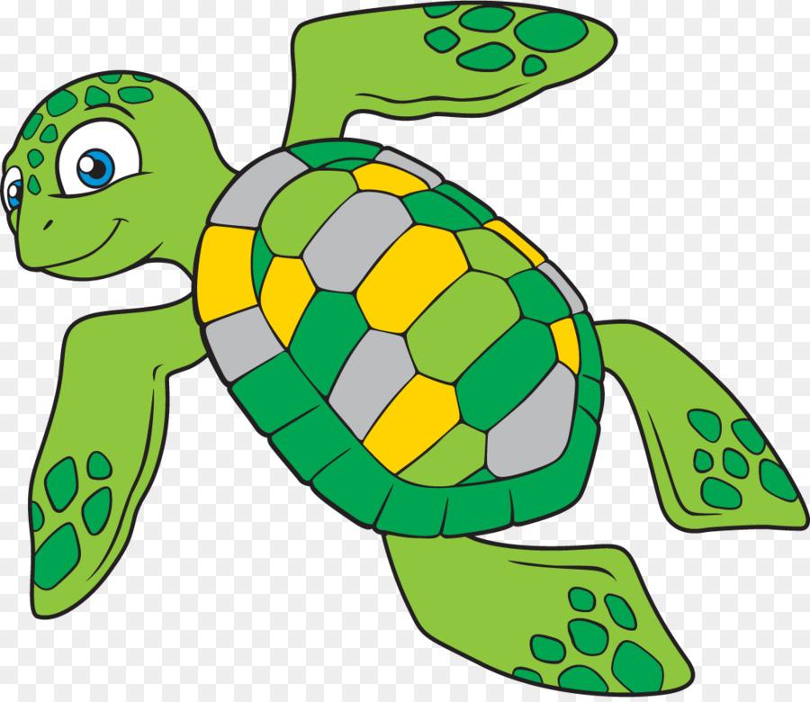 Sea turtle Schildkröte clipart.