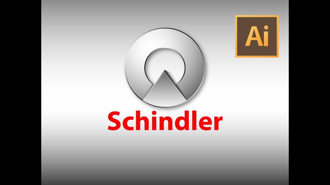 How to make Schindler logo.