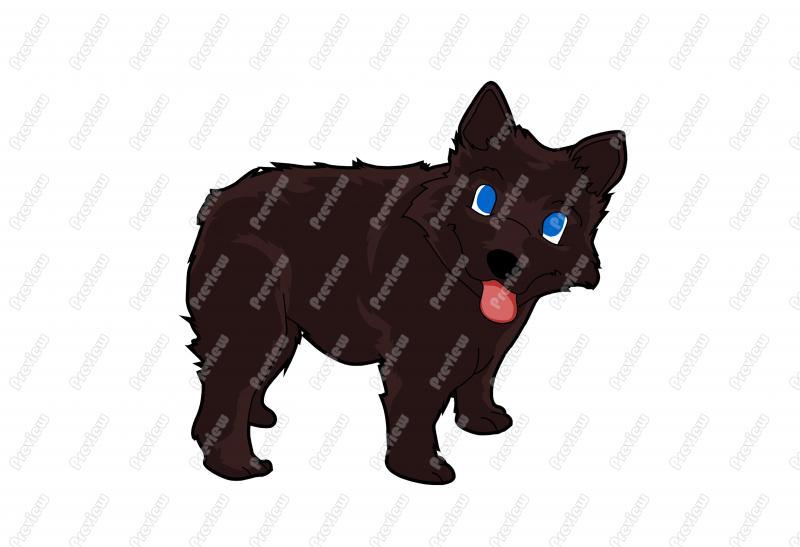 Showing post & media for Schipperke dog cartoon.