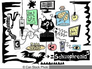 Schizophrenia Clipart Free.