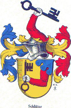 Schlueter/Schlüter Family Crests and Coat of Arms.