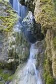 Stock Photo of scenic of the Schleierfall, Bavaria, Germany.