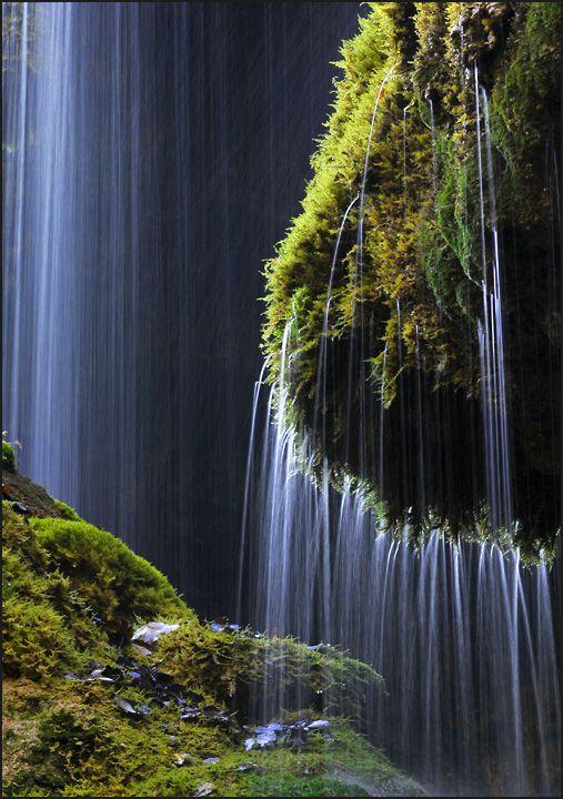 ✯ Schleierfall waterfall in Wilder Kaiser range, Austria.