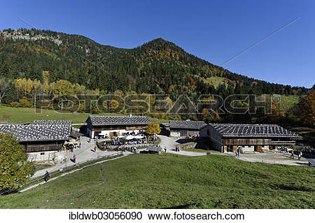 """Stock Photography of """"Markus Wasmeier Museum, farm museum and."""