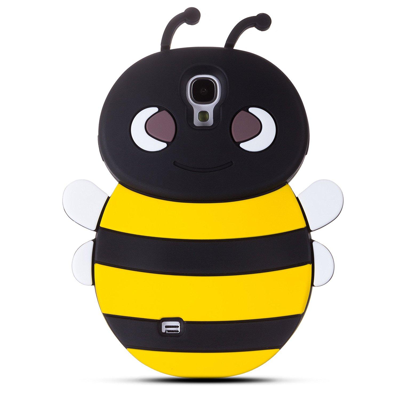 Zooky® schwarz Biene Silikon Hülle / Schutzhülle / Cover für.