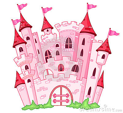 Castle Stock Illustrations.