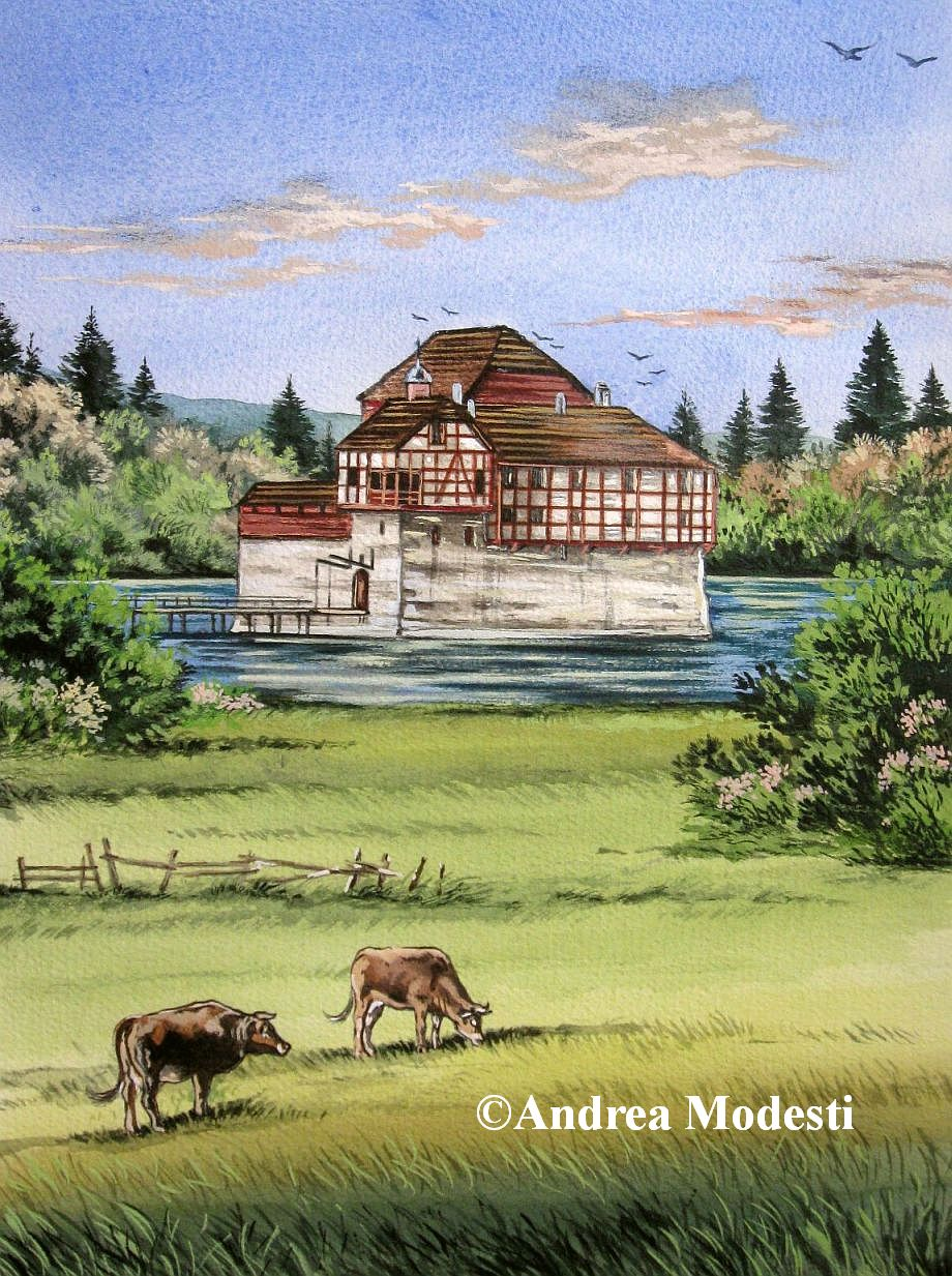 Andrea Modesti Art: Hagenwil Castle.