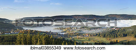 """Stock Photograph of """"Schluchsee Lake, Black Forest, Baden."""