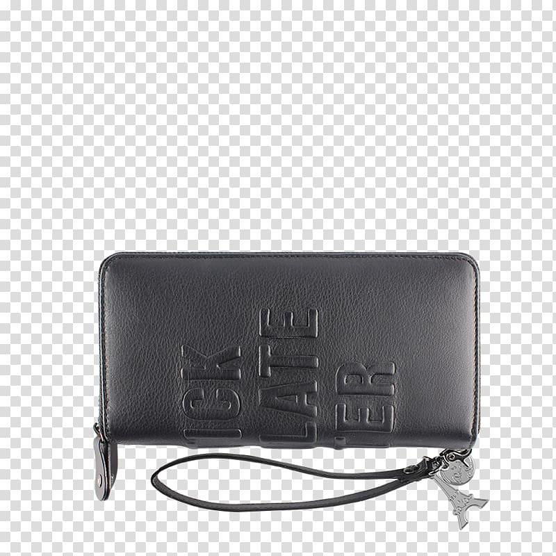 Bag Wallet Leather Schlumberger Lipstick, bag transparent.