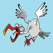 Lustige Cartoon Fliege premium clipart.