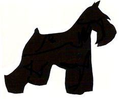Image result for schnauzer silhouette clip art.